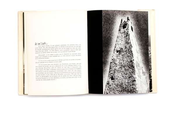 Title: Lumières du M'Zab Photographer(s): Christian Bossu-Picat, Philippe Rollet, Manuelle Roche Designer(s): – Writer(s): Claude Pavard Publisher: Editions Delroisse, Boulongne-Billancourt 1974 Pages: 164 Language: French, English and Arabic ISBN: – Dimensions: 21 x 28 cm Edition: – Country: Algeria