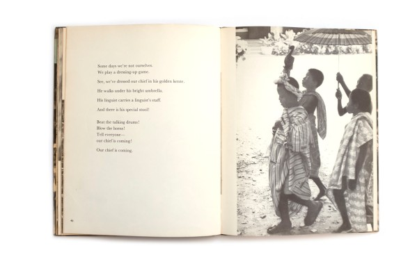 Title: Playtime in Africa Photographer(s): Willis E. Bell Designer(s): the authors Writer(s): Efua Sutherland Publisher: Self published, Accra July 1960 Pages: 64 Language: English ISBN: – Dimensions: 18 x 23.5 cm Edition: – Country: Ghana
