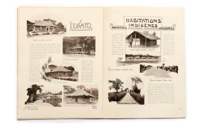 Title: L'État indépendant du Congo. - Documents sur le pays et ses habitants. Ethnographie et antropologie. Serie IV. - Fascicule I Photographer(s):Various photographers. Taken from the collection of the Congo Free State Designer(s): Jean Malveaux Writer(s): – Publisher: Published as an attachment to the 'Annales du Musée du Congo, Tervuren/Brussels July 1st 1903 Pages:32 (29-60) Language:French ISBN: – Dimensions:27 x 37 cm Edition: Loose pages in a document folder, with one heliogravure Country:Congo Free State
