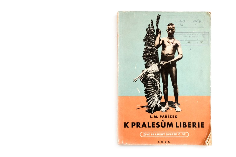 Title: K pralesům Liberie Photographer(s): Ladislav Mikeš Pařízek Designer(s): Vladimir Vesely Writer(s): Ladislav Mikeš Pařízek Publisher: Státní nakladatelství dětské knihy (State Publisher), Prague 1957 Pages: 114, 32 photographs Language: Czech ISBN: – Dimensions: 24 x 16 cm Edition: Country: French West Africa, Liberia
