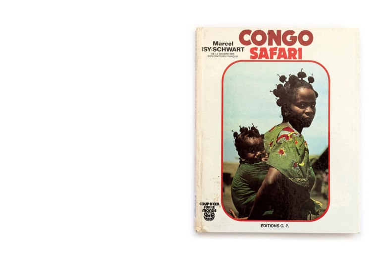 Title: Congo Safari Photographer(s): Marcel Isy-Schwart Designer(s): - Writer(s): Marcel Isy-Schwart Publisher: Editions G.P., Paris 1973 Pages: 128, mostly text with some sections with photographs Language: French ISBN: – Dimensions: 21 x 27 cm Edition: Country: Zaire