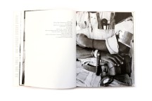 Title: On the mines Photographer(s):David Goldblatt Designer(s): David Goldblatt Writer(s): David Goldblatt and Nadine Gordimer Publisher: C. Struik (PTY) Ltd, Cape Town, 1973 Pages:136 Language:English ISBN: 0 86977 029 2 Dimensions:25 x 33 cm Edition: unknown, the book was published in grey and (more scarce) cloth. Steidl published a new version of the book. Country:South Africa