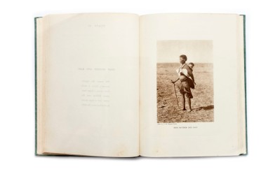 Title: The Bushman tribes of Southern Africa Photographer(s): Alfred Martin Duggan-Cronin Designer(s): - Writer(s): D.F. Bleek (introductory article on the Bushman tribes and descriptive notes on the plates) Publisher: The Alexander McGregor Memorial Museum, Kimberley 1942 Pages: 14 pages + 40 full-page plates from photographs, green cloth Language: English ISBN:  Dimensions: 18.5 x 25.5 cm Edition/Print run: Country: South Africa