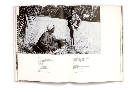 Title: Moussa ein Kind aus Guinea Photographer(s): unknown Designer(s): – Writer(s): Nabi Youla, with collaboration by Anne Blanchard and Diaw Papa Kane Publisher: Verlag Josef Habbel, Regensburg 1964 Pages: 68 Language: German and French ISBN: – Dimensions: 21 x 30 cm Edition: Country: Guinea