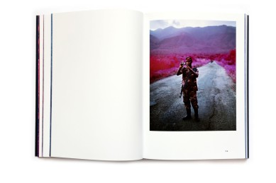 Title: The Enclave Photographer(s): Richard Mosse Designer(s): Tiffany Malakooti Writer(s): Jason Stearns, Richard Mosse Publisher: Aperture, New York 2013 Pages: 240 Language: English ISBN: 978-1-59711-263-5 Dimensions: 23.5 x 29.5 cm Edition/Print run: 1000, 250 copies were issued in a limited-edition boxed set Country: Democratic Republic of Congo