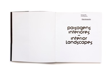 Title: Paisagens Interiores - Interior Landscapes Photographer(s): Filipe Branquinho Designer(s): João Roxo Writer(s): Alexandra Pinho, Filipe Branquinho / Sandra Vieira Jürgens, Joana Gomes Cardoso, José Carrilho, José Forjaz, José Pinto de Sá and Mia Couto Publisher: EGEAC, Lisbon 2016 Pages: 94 Language: Portuguese and English ISBN: 978-989-8167-28-6 Dimensions: 23 x 25 cm Edition/Print run: 750, exhibition catalogue Country: Mozambique