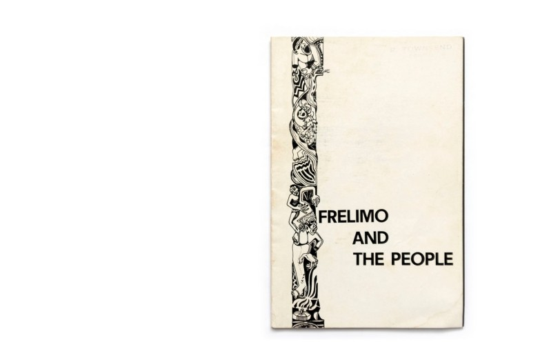 Title: Frelimo and the People Photographer(s):unknown Designer(s): – Writer(s):– Publisher: Tempografica SARL, Lourenço Marques (Maputo) 1973 Pages: 32 Language:English ISBN: - Dimensions:13 x 20 cm Edition: Country:Mozambique