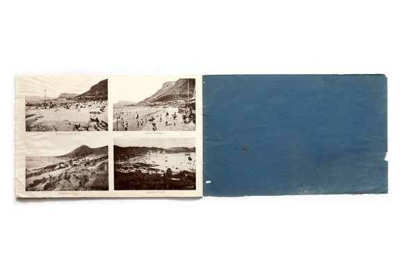 vTitle: Souvenir album of 130 South African scenes and native studies Photographer(s): various photographers Writer(s): - Designer(s): – Publisher: The Valentine & Sons Publishing Ltd., Cape Town 1910 (?) Pages: 32 Language: English ISBN: – Dimensions: 32 x 21 cm Edition:  Country: South Africa