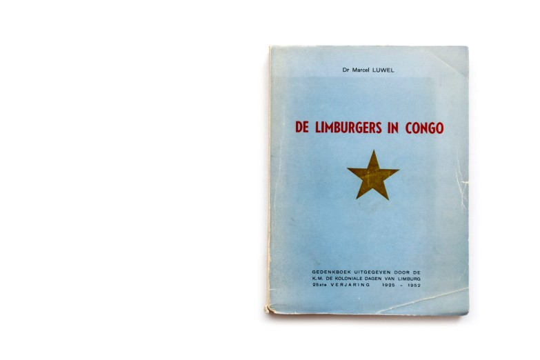 Title: De Limburgers in Congo Photographer(s): unknown Writer(s): Marcel Luwell Designer(s): – Publisher: K.M. Koloniale Dagen van Limburg / Limburgse Drukkerijen, Hasselt 1952 Pages: 140, only 19 photographic plates Language: Dutch ISBN: – Dimensions: 14 x 19 cm Edition:  Country: Belgian Congo
