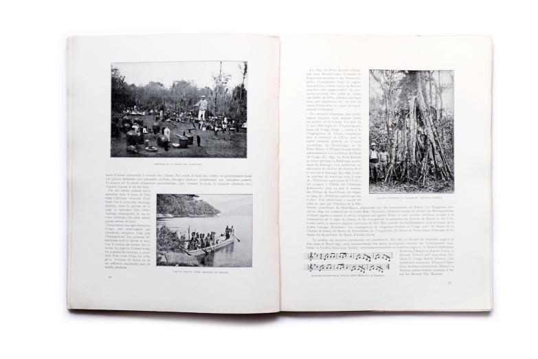 Title: Notre Colonie Le Congo Belge Photographer(s): Unknown Designer(s): - Writer(s): Albert de Boeck (editeur) Publisher: A. Castaigne, Brussels 1909 Pages: 104 Language: French ISBN:  Edition: Dimensions: 24.5 x 31.5 cm Country: Belgian Congo
