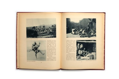 Title: La France Lointaine. Afrique Occidentale Française Photographer(s): Unknown Designer(s): Writer(s): Général Gouraud (préface) and Georges Hardy Publisher: Horizons de France. Paris 1930 Pages: 64 Language: French ISBN:  Edition: This is volume 15 in a series of books 'Le Visage de la France'. about the country and its colonies. Some of those volumes (maybe all of them) were published earlier in a magazine format. Dimensions: 24.5 x 33 cm Country: L'Afrique-Occidentale française (A.-O.F.) - Mauritanie, Sénégal, Mali, Guinée, Côte d'Ivoire, Niger,  Burkina Faso, Togo and Bénin.