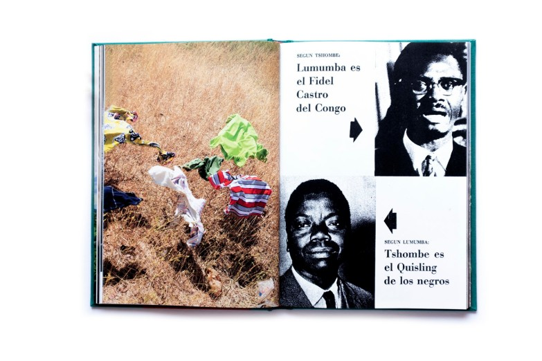 Title: Picnos Tshombé Photographer(s): Gloria Oyarzabal Designer(s): Tres Tipos Graficos Edit: Gloria Oyazabal and Moritz Neumüller Writer(s): Gloria Oyarzabal Publisher: Breadfield Press, Landskrona Foto Publishing and Witty Kiwi, Madrid 2018 Pages: 142 pages + booklet 32 pages Language: Spanish and English ISBN: 978-91-981747-4-8 / 978-91-984414-1-3 / 978-88-941882-7-1 Edition: 600 copies Dimensions: 17 x 24 cm Country: Katanga / Belgian Congo
