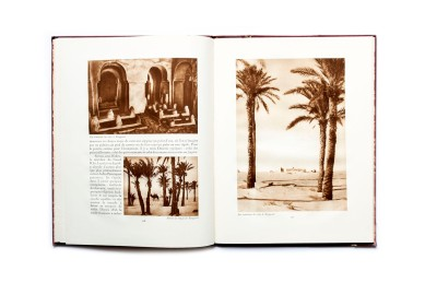 Title: L'Afrique du Nord. L'Algérie et le Désert Photographer(s): Unknown Designer(s): Writer(s): Georges Rozet Publisher: Horizons de France. Paris 1930 Pages: 56, stated 105-160 Language: French ISBN:  Edition: This is volume 12 in a series of books 'Le Visage de la France' about the country and its colonies. Some of those volumes (maybe all of them) were published earlier in a magazine format. This is the third part of a series of five on Northern Africa Dimensions: 24.5 x 33 cm Country: Various countries