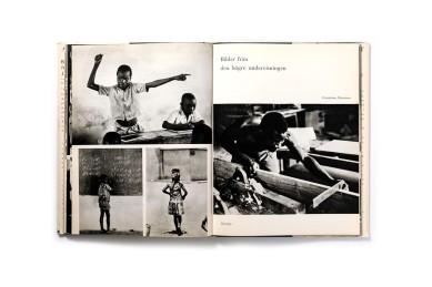 Title: Bilder av Kongo- Från en mission Photographer(s): Sune Jonsson Designer(s): Jane Degerman Writer(s): Sune Jonsson (?) Publisher: LTsFörlag, Stockholm 1965 Pages:162 Language:Swedish ISBN:– Edition: - Dimensions: 19.5 x 20 cm Country:Congo Brazzaville