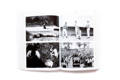 vTitle: Spectres Photographer(s): Jacques Brassinne, Sven Augosttijnen Designer(s): Studio Luc Derycke Writer(s): Sven Augusttijnen Publisher: ASA Publishers / Mer Paper Kunsthalle, Ghent 2011 Pages: 304 Language: French, English (also in French / Dutch) ISBN: 9789461170095 Edition: – Dimensions: 16.5 x 24.5 cm Country: Democratic Republic Congo