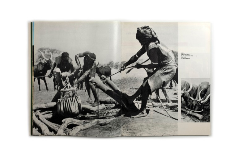 Title: Le Niger en marche Photographer(s): unknown, various photographers Designer(s): - Writer(s): - Publisher: Ministère de la défense et de la jeunesse du Niger Pages: 120 pp. + a section of advertisements Language: French ISBN: - Edition: – Dimensions: 23 x 29 cm Country: Niger