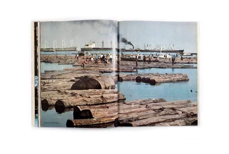 Title: Gabon Panorama Photographer(s): Georges Prunet (sauf mention particulière) Designer(s): Italo Bazzoli a Monaco Writer(s): - Publisher: Editions Paul Bory Monaco / Ministere de l'information, Libreville 1970 Pages: 98 Language: French ISBN: – Edition: - Dimensions: 22 x 28 cm Country: Gabon