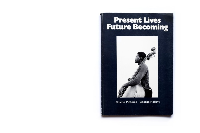 Title: Present lives future becoming Photographer(s): George Hallett, Wilfred Paulse, Clarence Coulson and Gavin Jantjes Designer(s): unknown Writer(s): Cosmo Pieterse Publisher: Hickney Press Unlimited, Surrey 1973 Pages: 90 pp Language: English ISBN: 090064401x Dimensions: 21cm x 30cm Edition: – Country: South Africa