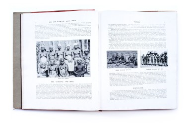 Title: The red book of West Africa: historical and descriptive, commercial and industrial facts, figures, and resources Photographer(s): George S.A. Da Costa (1853-1929), Frederick Richard Christian Lutterodt (1871-1937), Neils Walwin Holm (1865 – about 1927), Justus A.C. Holm (1888), Alphonso Lisk-Carew and Arthur Lisk-Carew, the Nicol Brothers and W.J. Sawyer (?) Designer(s): unknown Writer(s): Allister Macmillan Publisher: W.H. & L. Collingridge, London 1920 Pages: 314pp Language: English ISBN: – Dimensions: 22×28 cm Edition: First edition, a second edition was published in 1968 Country: Nigeria, Gambia, Sierra Leone, Gold Coast (Ghana)
