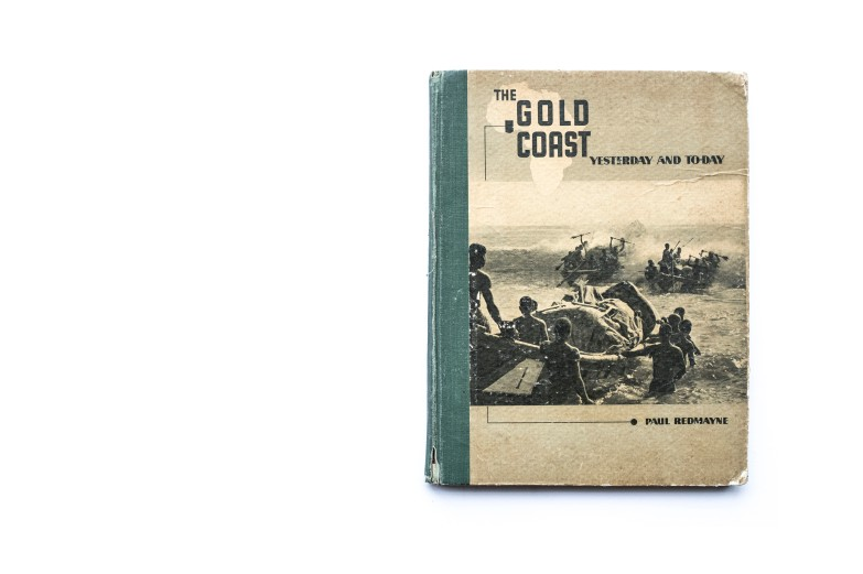 Title: The Gold Coast. Yesterday and Today Photographer(s): Paul Redmayne and archived prints Designer(s): - Writer(s): Arnold Hodson, Governor of the Gold Coast and Paul Redmayne Publisher: Methodist Book Depot, Cape Coast (Ghana) 1941 (Printed in London) Pages: 120 pp Language: English ISBN: - Dimensions: 19 x 25 cm Edition: – Country: Ghana