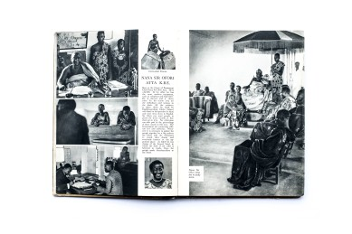 Title: The Gold Coast. Yesterday and Today Photographer(s): Paul Redmayne and archived prints Designer(s): - Writer(s): Arnold Hodson, Governor of the Gold Coast and Paul Redmayne Publisher: Methodist Book Depot, Cape Coast (Ghana) 1941 (Printed in London) Pages: 120 pp Language: English ISBN: - Dimensions: 19 x 25 cm Edition: – Country: GhanaTitle: The Gold Coast. Yesterday and Today Photographer(s): Paul Redmayne and archived prints Designer(s): - Writer(s): Arnold Hodson, Governor of the Gold Coast and Paul Redmayne Publisher: Methodist Book Depot, Cape Coast (Ghana) 1941 (Printed in London) Pages: 120 pp Language: English ISBN: - Dimensions: 19 x 25 cm Edition: – Country: Ghana