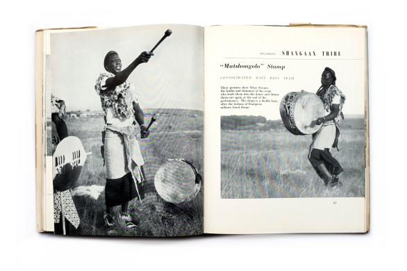 Title: African Dances of the Witwatersrand Gold Mines Photographer(s): Merlyn Severn Designer(s): - Writer(s): Hugh Tracey and W.W.M. Eisselen (Secretary for Native Affairs) Publisher: African Music Society, Johannesburg 1952 Pages: 156 Language: English ISBN: - Dimensions: 21 x 27 cm Edition/Print run: – Country: South Africa