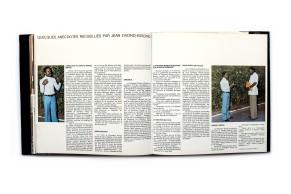 Title: Le président Bongo Photographer(s): Official information, Prunet, Desprats, Longeville and R. Groux Designer(s): Unknown Writer(s):Jean Ovono-Essono Publisher: Une coédition multiples-gabon et Paul Bory s.a., ? 1975 Pages:130 pp Language:French ISBN: Dimensions:24.5 x 24.5 cm Edition: – Country:Ghabon