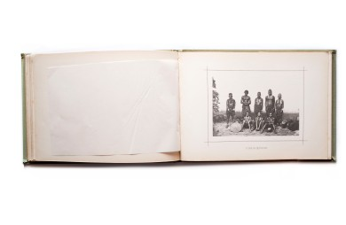 Title: Africa Occidental – Album Photográphico e Descriptivo. Primeira parte Photographer(s): José Augusto da Cunha Moraes (1855-1933) Designer(s): David Corazzi Writer(s): Luciano Cordeiro and José Augusto da Cunha Moraes Publisher: David Corazzi, Lisbon 1887 Pages: text pages with 38 collotypes and one map Language: Portuguese ISBN: – Dimensions: 29.5 x 21 cm Edition: ? Country: Angola