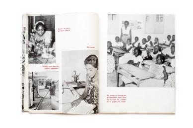 Title: Senegal d'hier...Senegal d'aujourd'hui Photographer(s):unknown Designer(s): unknown Writer(s): unknown Publisher: Ministère de l'Information, de la Radiodiffusion et de la Presse de la République de Sénégal, Dakar (?) 1961. The book was printed in Casablanca Pages:76 Language:French ISBN: – Dimensions:24 x 30,5 cm Edition: ? Country:Senegal