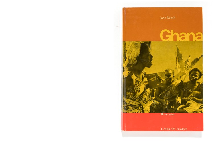 Title: Ghana Photographer(s): Marc Riboud Designer(s): Beni Schalcher Writer(s): Jane Rouch Publisher: Recontre, Lausanne 1964 Pages: 208 pages Language: French ISBN: Dimensions: 17 x 27 cm Edition: From the collection L'Atlas des Voyages directed by Charles-Henri Favrod Country: Ghana