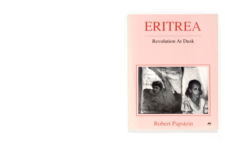 Title: Eritrea. Revolution at dusk Photographer(s): Robert Papstein Designer(s): Robert Papstein Writer(s): Robert Papstein Publisher: The Red Sea Press, Trenton 1990 Pages: 170 Language: English ISBN: 0-932415644 Dimensions: 20,5 x 27 cm Edition: Country: Eritrea