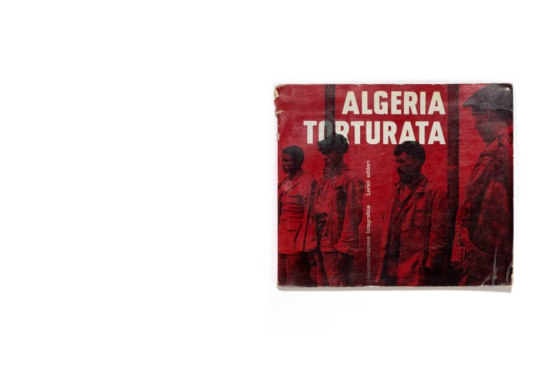 Title: Algeria Torturata Photographer(s): Various photographers Designer(s): - Writer(s): Aziz Izzet Publisher: Lerici editori, Milan 1961 Pages: 64 textpages and 15 photographic plates Language: Italian and French ISBN: Dimensions: 21 x 18 cm Edition: Country: Algeria