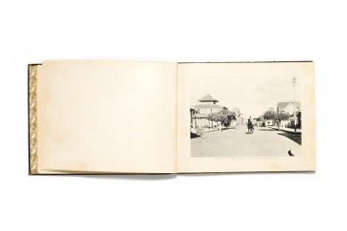 Title: Views of Lourenço Marques Photographer(s): unknown, probably Spanos & Tsitsias Designer(s): unknown Writer(s): unknown Publisher: Spanos & Tsitsias, Lourenço Marques (Maputo) n.d. (1905) Pages: 100 photographic plates (most probably collotypes) Language: English ISBN: Dimensions: 23 x 18 cm Edition: This volume is one part of four Country: Mozambique