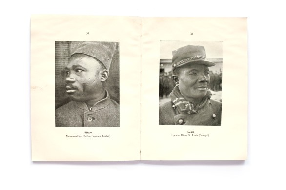 Title: Unsere Feinde. 96 Charakterköpfe aus deutschen Kriegsgefangenenlagern Photographer(s): Otto Stiehl Designer(s): unknown Writer(s): Otto Still Publisher: Verlag Julius Hoffmann, Stuttgart 1915 Pages: 32 text pages and 96 photographic plates Language: German ISBN: Dimensions: 13 x 17 cm Edition: This is an edition from 1917 (16.-25 thousand) Country: Various countries