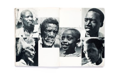 Title: Ruanda Urundi Photographer(s): Capelle, G. Seuvorst, H. De Saeger, R. de Wilde, G.F. de Witte, C. Eeman, R. Geerts, Henri Goldstein, Carlos Lamote, P. Laval, E. Lebied, J.J. Maquet, J. Mulders, Regnier, G. Sladden, R. Stalin, J. Verschueren and Congopresse Designer(s): Robert Geerts Writer(s): Jean-Paul Harroy, Governor of Ruanda-Urundi Publisher: Inforcongo, Brussels 1958 Pages: 147 photographs (unpaginated) Language: English ISBN: – Dimensions: 21 x 27 cm Country: Rwanda and Burundi