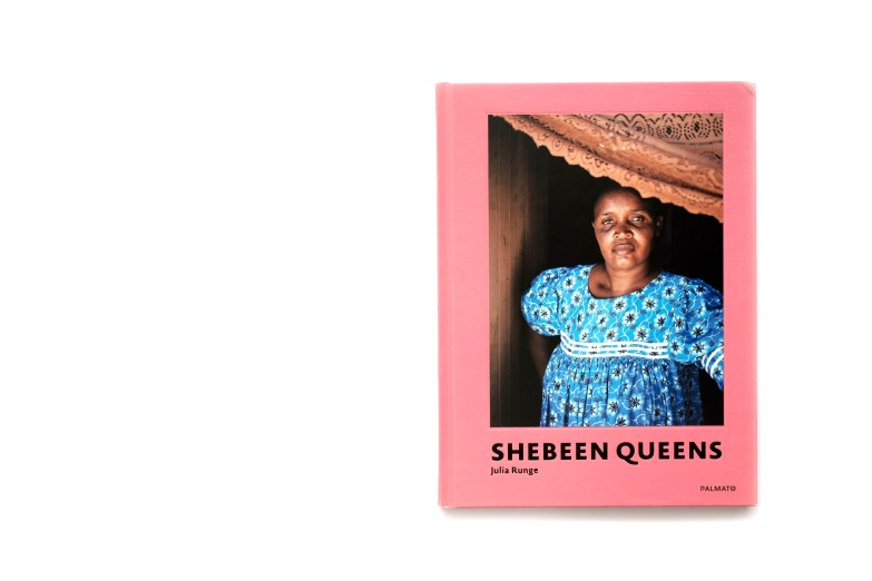 Title: Shebeen Queens Photographer(s): Julia Runge Designer(s): Julia Runge and Judith Johns Writer(s): Fabian Vader and Julia Runge Publisher: Palmato Publishing, Hamburg 2020 Pages: 104 Language: English ISBN: 978-2-946295-33-3 Dimensions: 18 x 24 cm Country: Namibia
